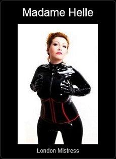 Mistress UK - Madame Helle the London Mistress