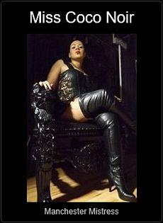Mistress UK - Mistress Coco Noir the Manchester Mistress