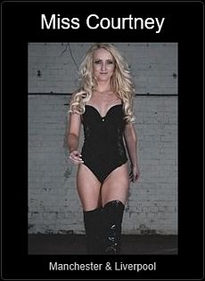 Mistress UK - Miss Courtney the Manchester and Liverpool Mistress