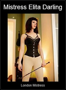 Mistress UK - Mistress Elita Darling the London Mistress