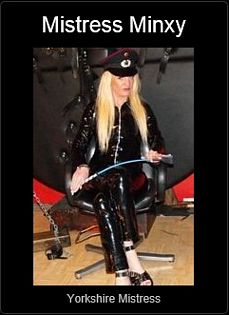 Mistress UK - Mistress Minxy the Yorkshire Mistress