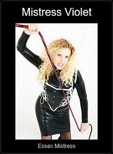 Mistress UK - Mistress Violet the Essex Mistress