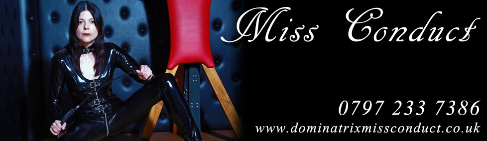Mistress UK - Miss Conduct the East Midlands Mistress