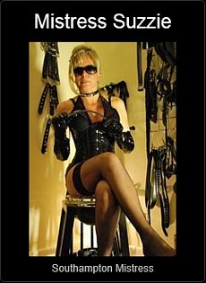 Mistress UK - Mistress Suzzie the Southampton Mistress