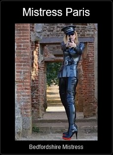 Mistress UK - Mistress Paris French the Bedfordshire Mistress