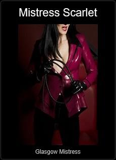 Mistress UK - Mistress Scarlet the Glasgow Mistress